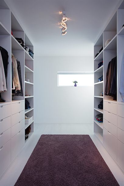 Walk In Robe One Side With Full Length Rail Along Back Wall My Dream Bedroom Pinterest
