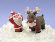 Christmas Cake Decorations - Claydough Figurines