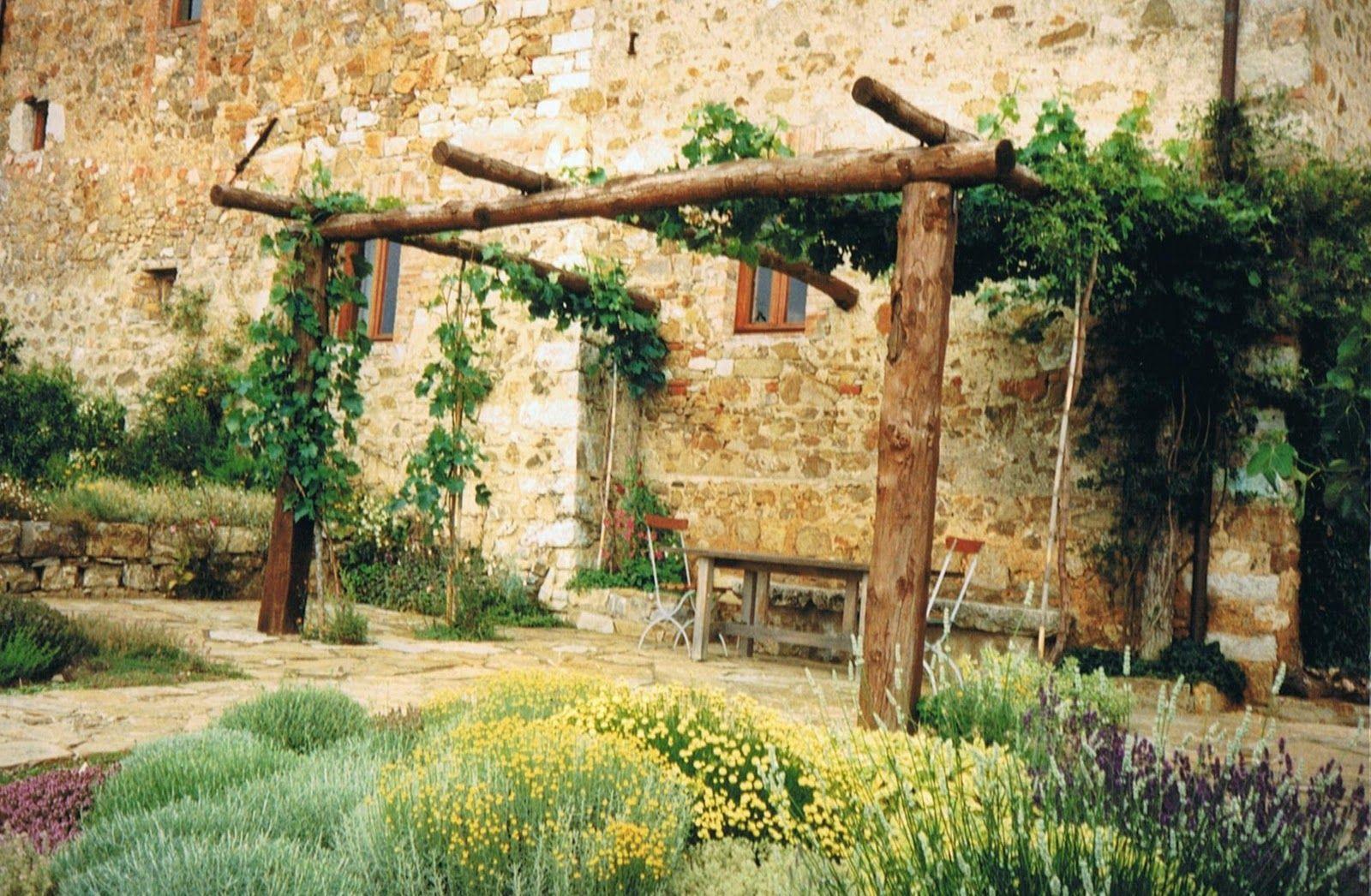 rustic pergola :. | Nature | Pinterest | Rustic pergola, Pergolas ...