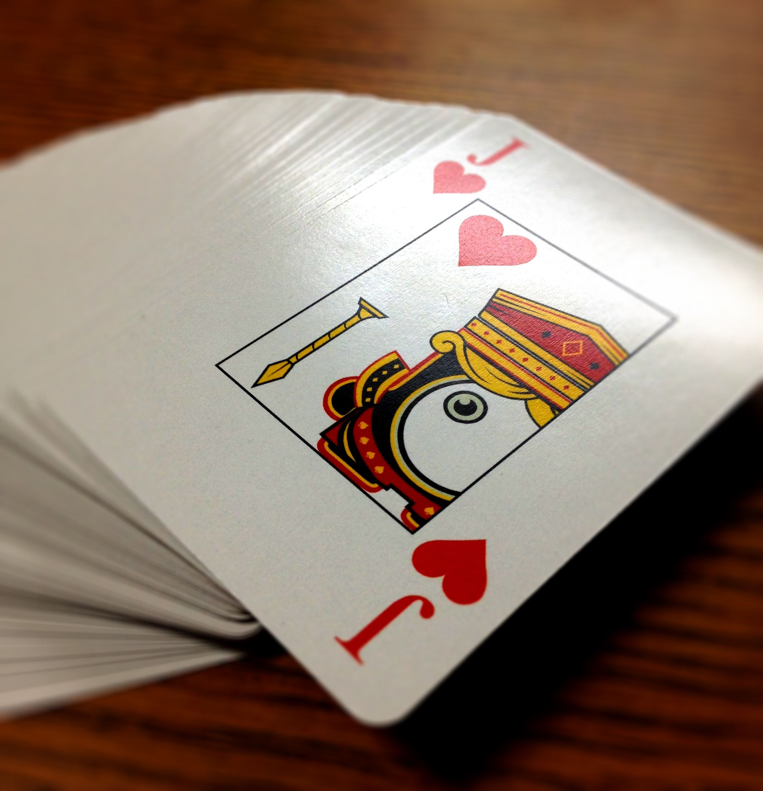 Our new playscreen poker cards