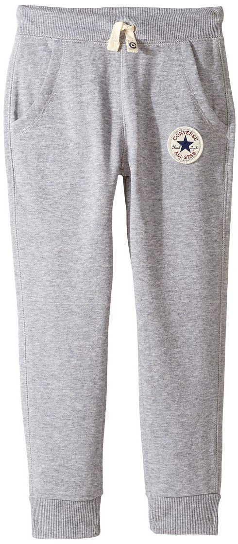 Converse Kids Core Rib Cuff Pants (Toddler/Little Kids) (Vintage Grey Heather) Boy's Casual Pants - Converse Kids, Core Rib Cuff Pants (Toddler/Little Kids), 864190E-029, Apparel Bottom Casual Pants, Casual Pants, Bottom, Apparel, Clothes Clothing, Gift, - Fashion Ideas To Inspire