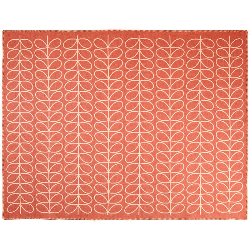 Buy Orla Kiely Linear Stem Throw John Lewis (With images