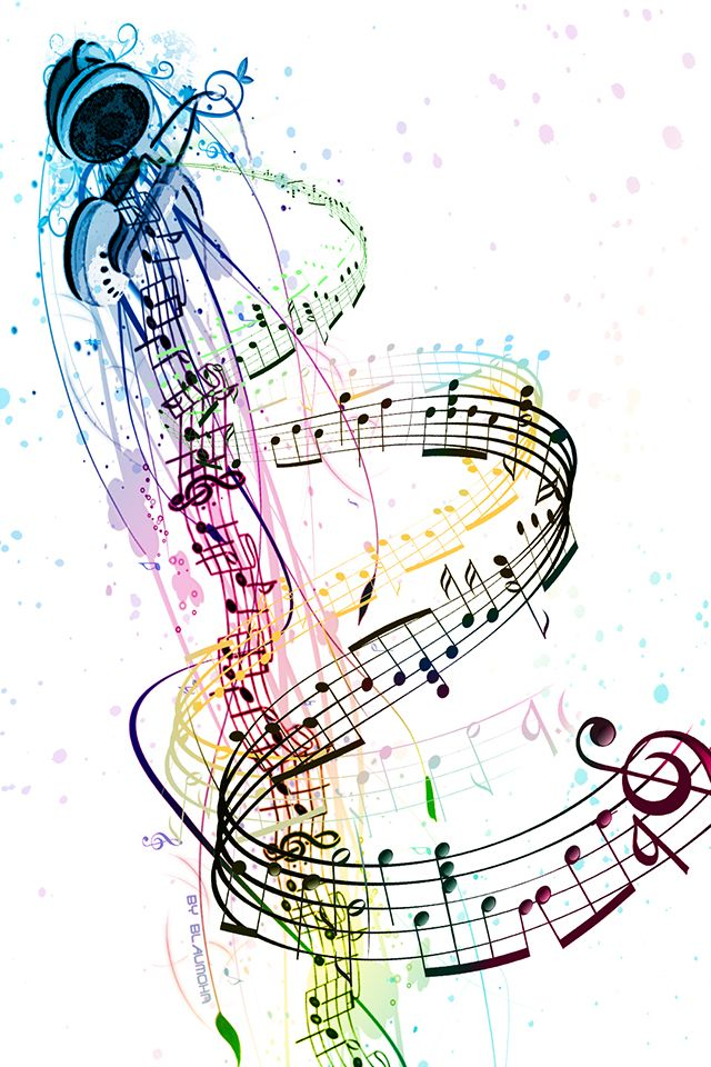 Halloween Music Note Wallpaper 2020 Music Notes iPhone Wallpaper HD | Iphone wallpaper music, Music