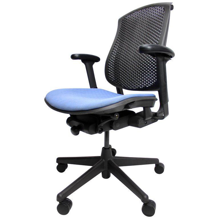 Herman Miller Celle Adjustable Desk Task Chair Adjustable Seat And Arm Height Adjustable Desk Chair