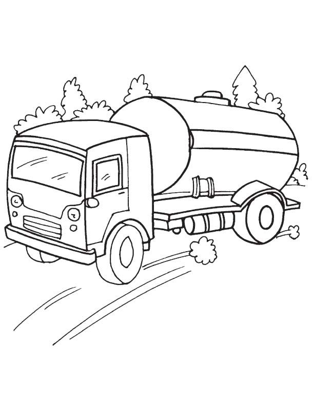 #coloring #pages #tanker #truck #2020 Check more at http ...