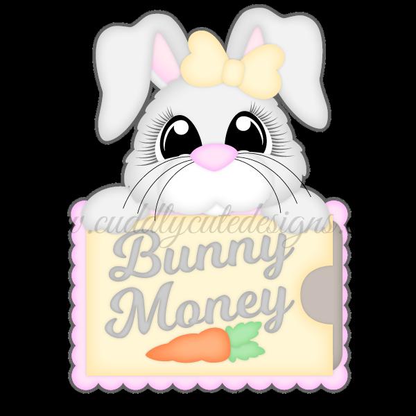 Bunny Money Card Holder Money Holders Card Gift Cards Money Money Cards