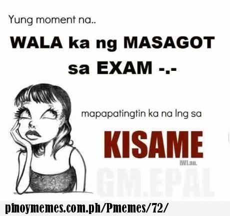 during exam      | Tagalog Memes | Memes, Pinoy, Tagalog