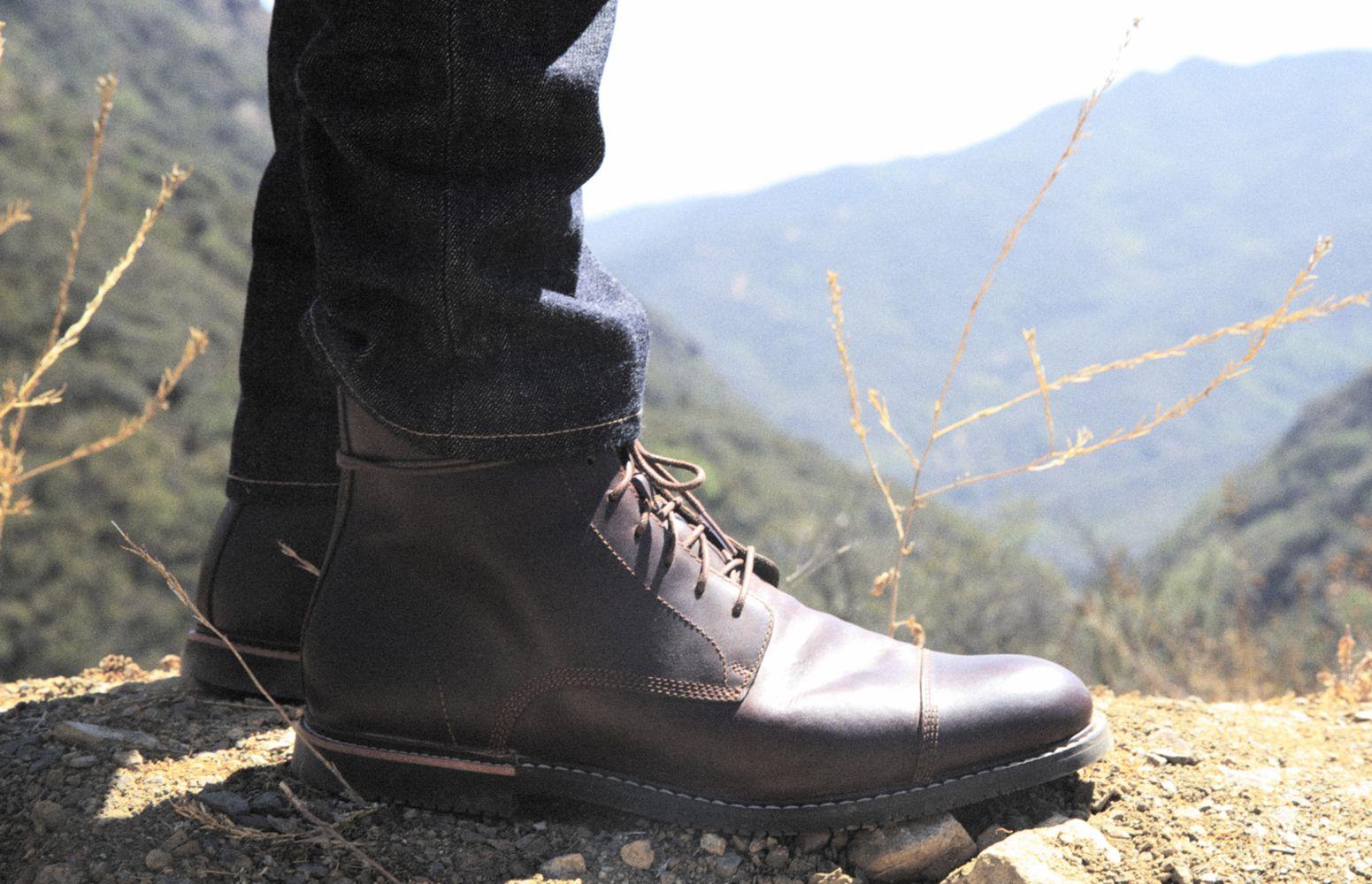 Timberland MarkMaker Sean Sullivan wearing Brook Park boots #shoes ...