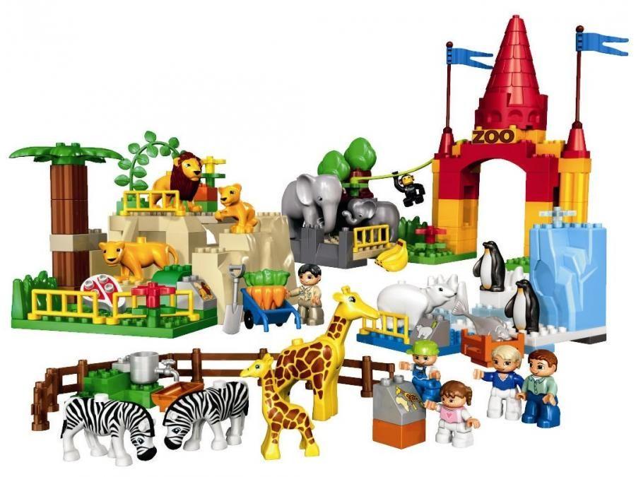 Notice Montage Zoo Lego Duplo Kids Lego Duplolego Ja Lego Design