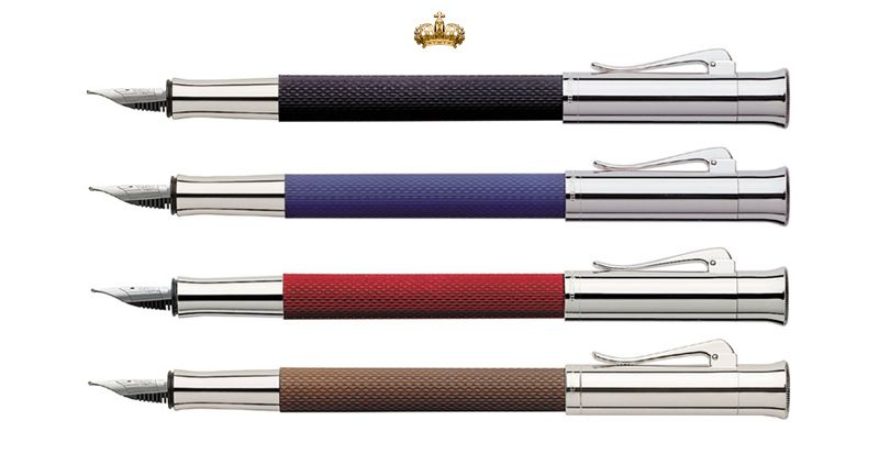 Graf von Faber-Castell Guilloche Fountain Pen