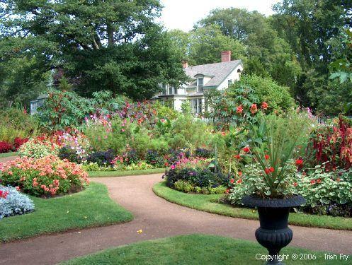Annapolis Nova Scotia Royal Historic Gardens Victorian Garden