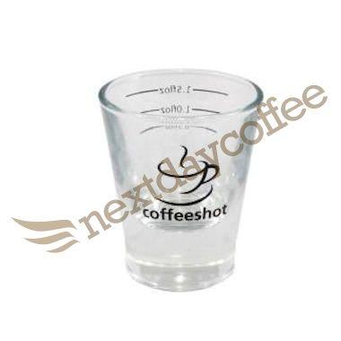 شات شیشه ای اسپرسو 60 گرمی شات قهوه Coffee Lover Best Coffee Shot Glass
