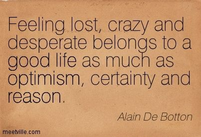 alain de botton - quote - good life ...