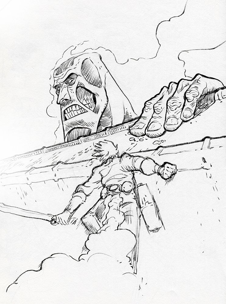 Pin by spetri on lineart shingeki no kyojin pinterest for Attack on titan coloring pages