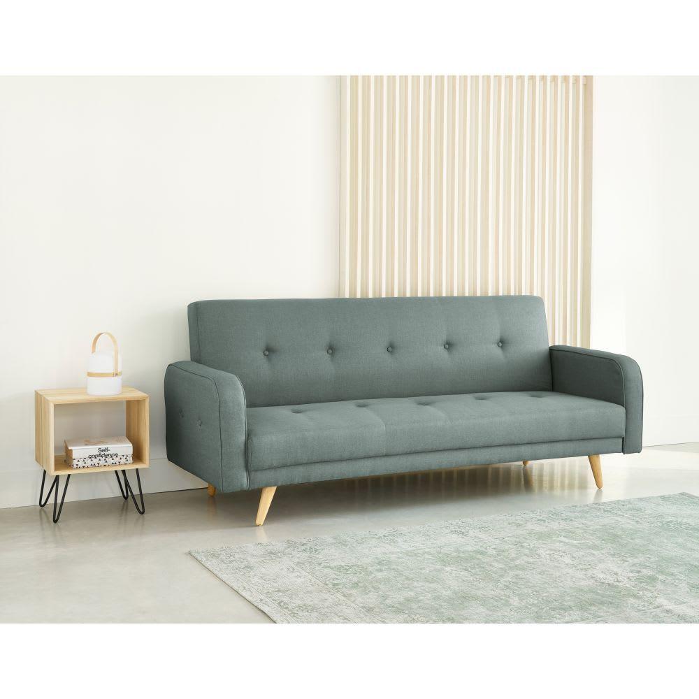 Aqua 3 Seater Clic Clac Sofa Bed Maisons Du Monde In 2020