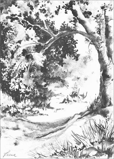 Albrecht Rissler S Drawing Landscape Blog Great Landscape Drawing