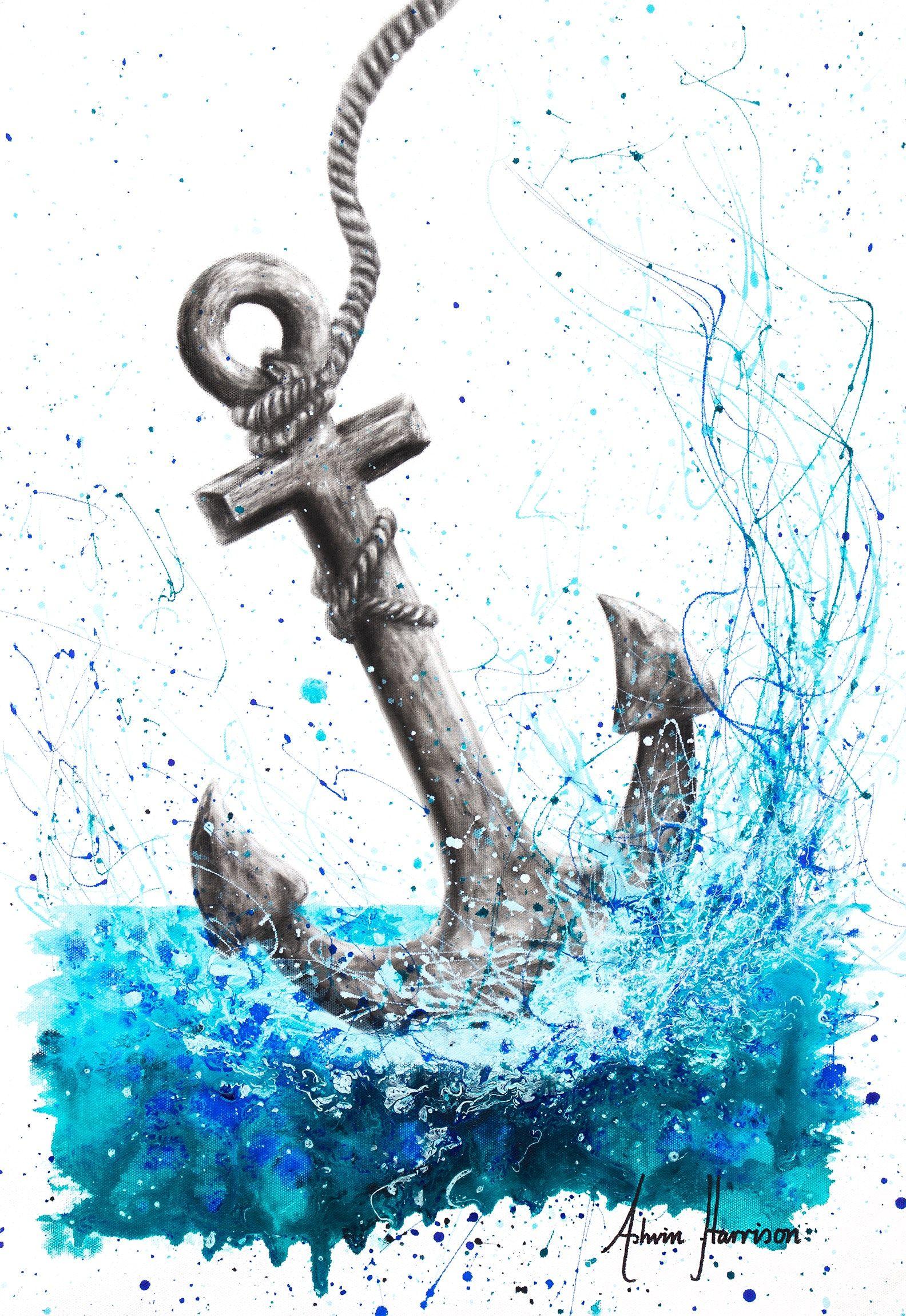 Drift And Anchor In 2020 Anchor Art Anchor Drawings Anchor Wallpaper