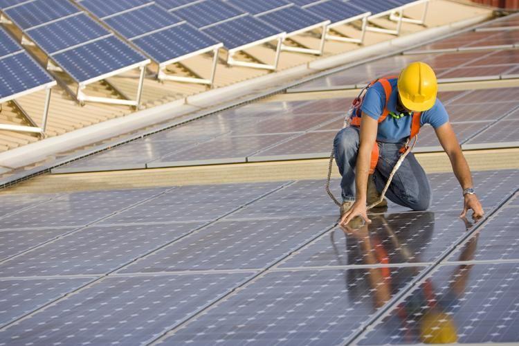 Installing Solar Panels Solar Panel Installation Solar Solar Panels