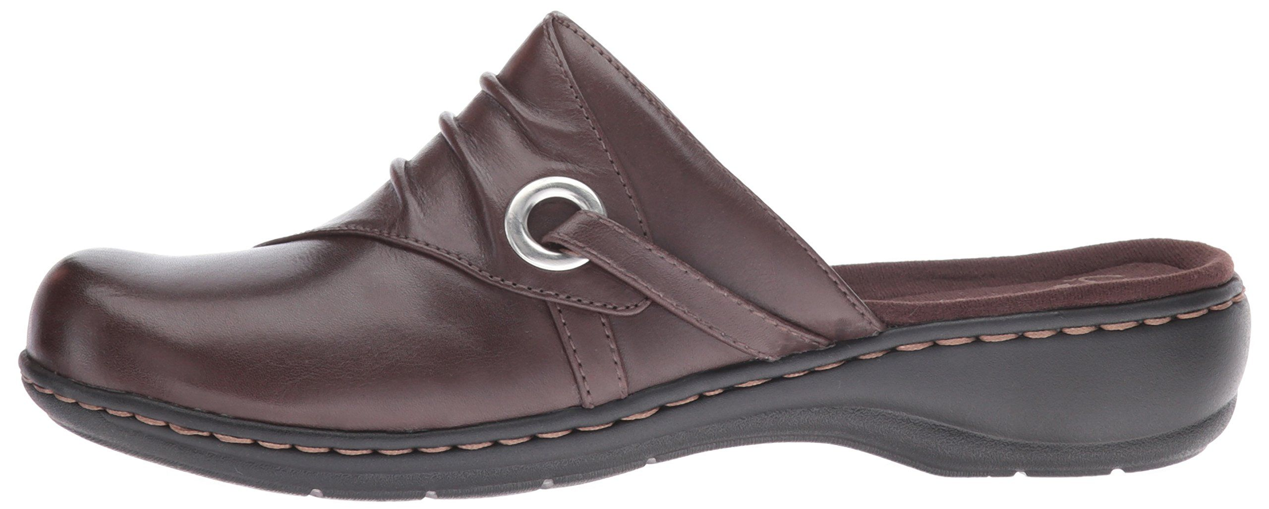 9f513ac8a27 CLARKS Womens Leisa Bliss Mule Dark Brown Leather 11 M US   Check out this  great product. (This is an affiliate link and I receive a commission for  the ...