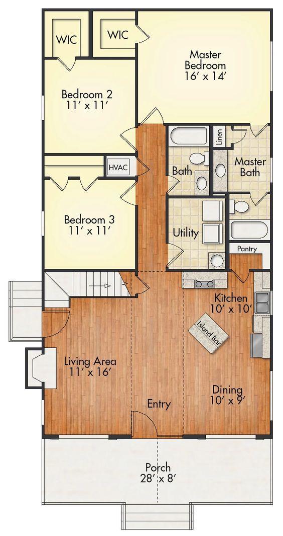 Aspen With Loft House Plan United Built Homes Custom Home Builders Loft House House Floor Plans House Plans