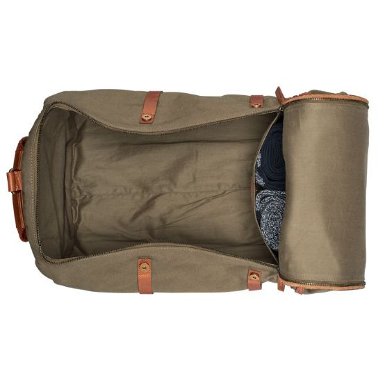 3816134b4fe Shop Timberland for the Nantasket duffle bag: Waxed canvas adds durability  to…