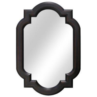 Home Decorators Collection 22 In W X 32 L Framed Fog Free Wall Mirror Oil Rubbed Bronze