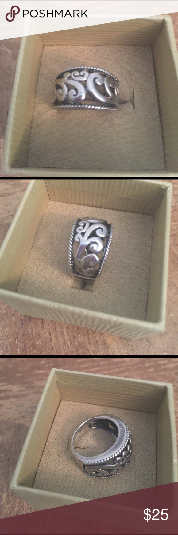 🌺Ring Sterling silver solid 925 Vintage size 6🌺 🌺Ring Sterling silver solid 925 Vintage size 6🌺 Jewelry Rings