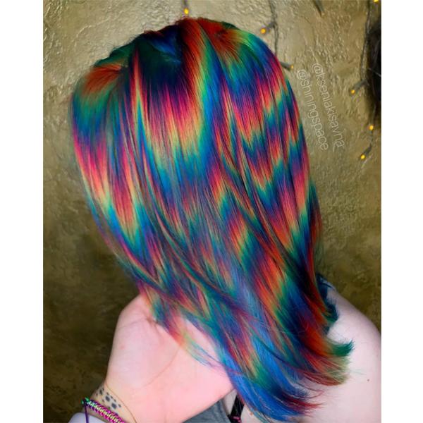 Holographic Hair Behindthechair Com Holographic Hair Hair Styles Rainbow Hair Color