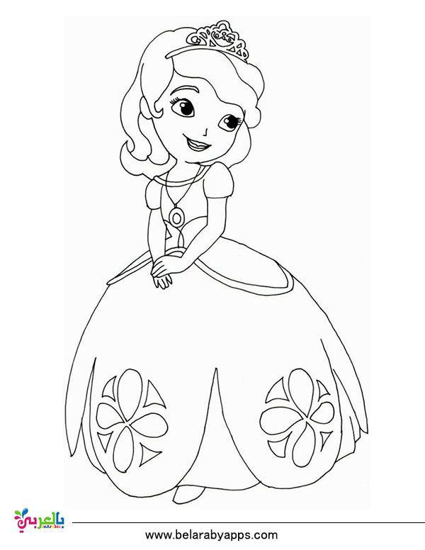 رسومات اطفال للتلوين باربي تلوين انمي للبنات للطباعة بالعربي نتعلم Cartoon Coloring Pages Disney Coloring Pages Printables Princess Coloring Pages
