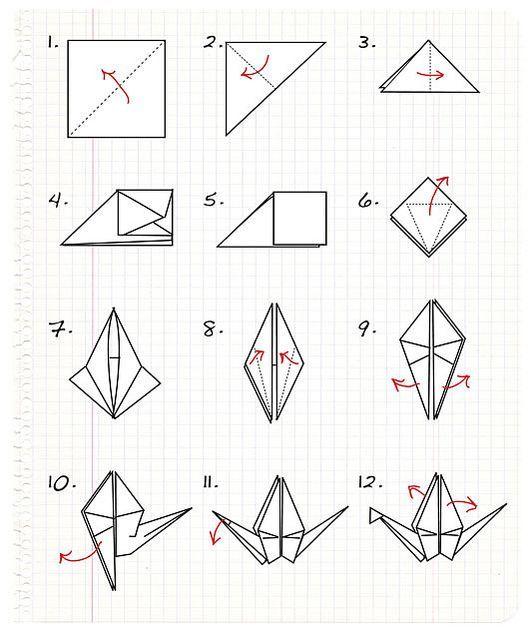 Origami Crane Step By Step Origami Crane Tutorial Origami Paper