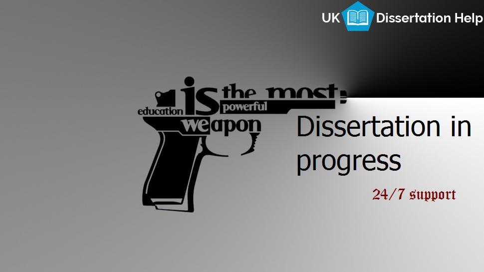 Dissertation help service in uk
