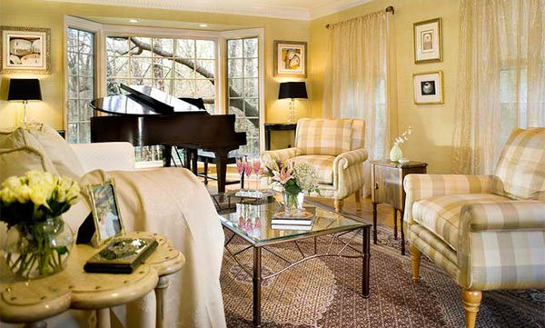 15 Grand Piano Set Ups In Traditional Living Rooms Home Design Lover In 2021 Cozy Living Room Design Romantic Style Living Room Houzz Living Room