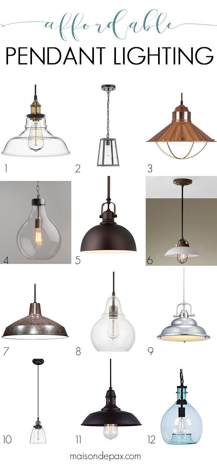 Affordable Pendant Lights And How To