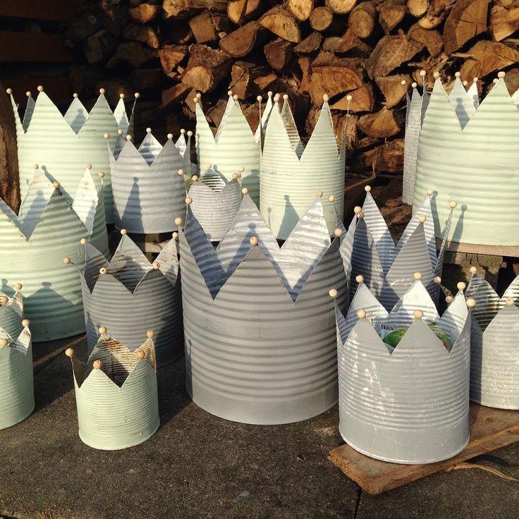 Bildergebnis für kronen basteln aus blechdosen - #aus #Basteln #Bildergebnis #blechdosen #für #Kronen #metall #tincans