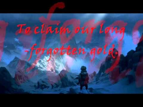 ▶ Far Over the Misty Mountains Cold - Full Song Cover + Lyrics - YouTube