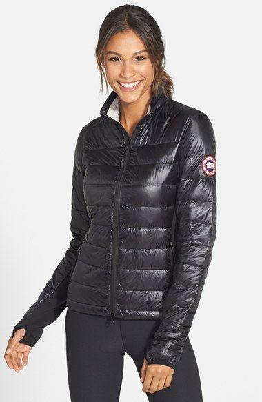 Canada Goose Hybridge Lite Mixed Media Down Jacket Nordstrom Down Jacket Leather Jackets Women Canada Goose