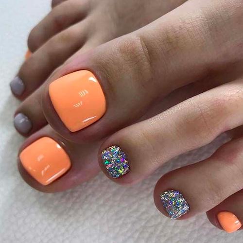 20 Trending Winter Nail Colors Design Ideas For 2020 Cute Toe Nails Beach Toe Nails Summer Toe Nails