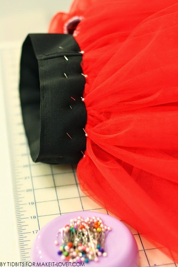 How to Make a Layered Tutu / Tulle Skirt (With Wide Elastic Band) -   16 tulle dress DIY ideas