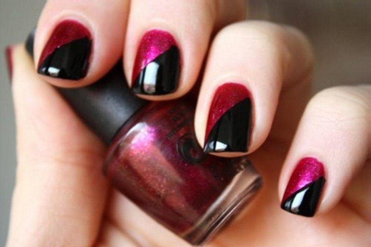 Simple nail polish designs for party nails pinterest nails