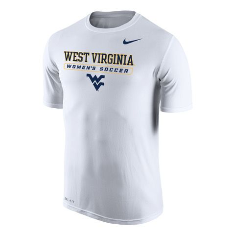 777f48b89 Show your support for the Mountaineers in our unisex WVU Women s Soccer  Nike Dri-FIT Tee Shirt! Head out to Dick Dlesk Soccer Stadium and cheer on  the ...