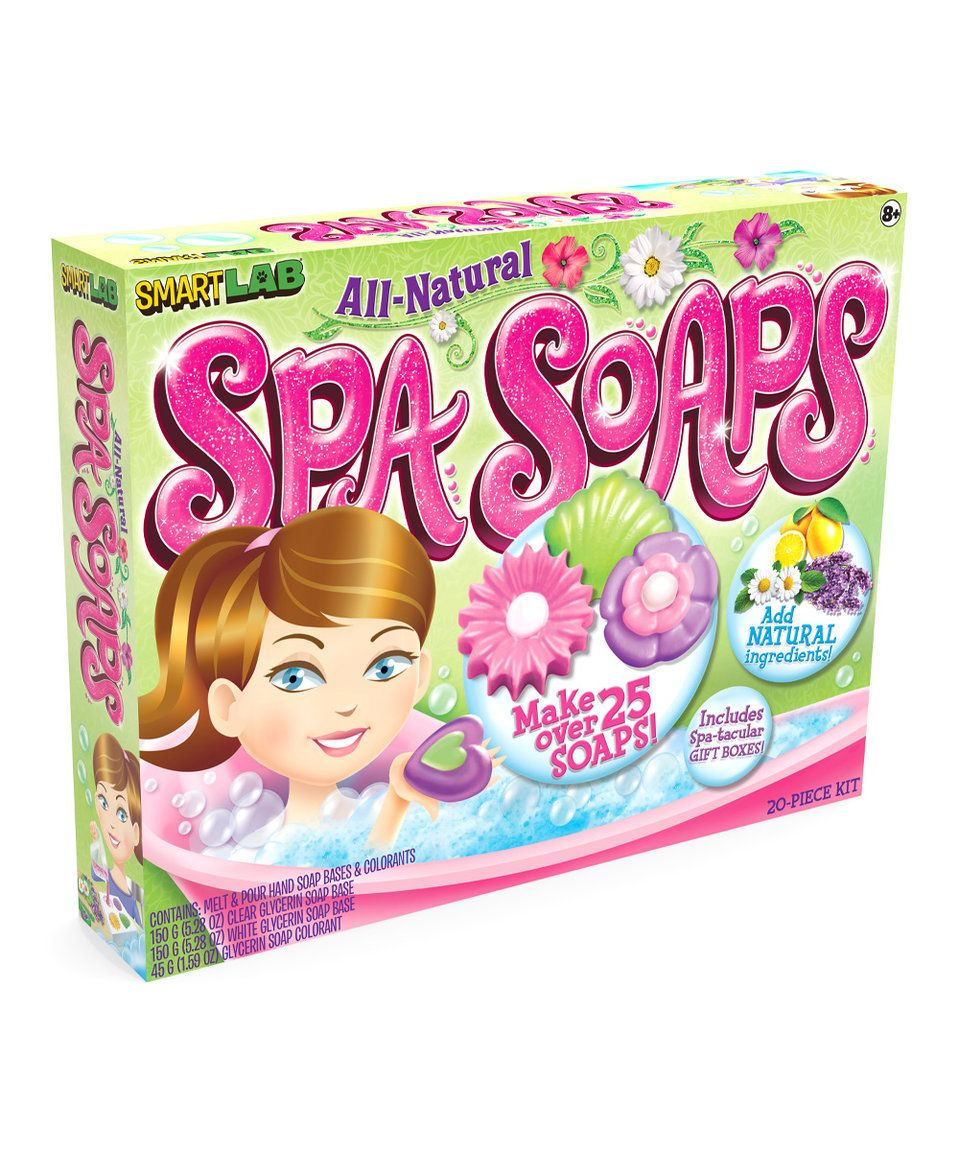 Take a look at this All-Natural Spa Soaps Kit today!