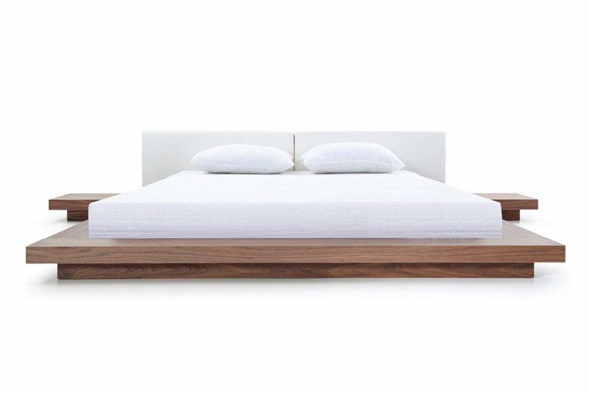 Noblitt Upholstered Platform Bed White Platform Bed Platform