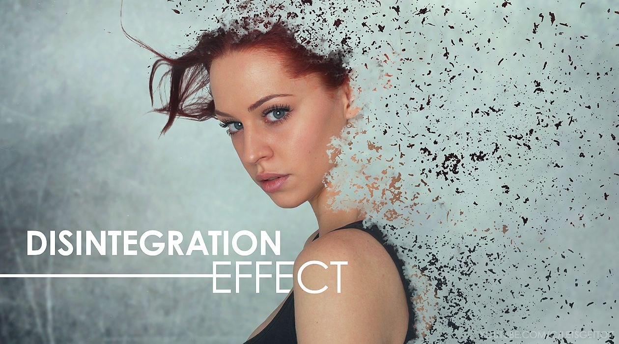 Create an Awesome Disintegration Effect in Photoshop | Photo