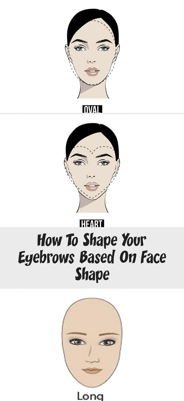 How to Shape Your Eyebrows Based on Face Shape # ...