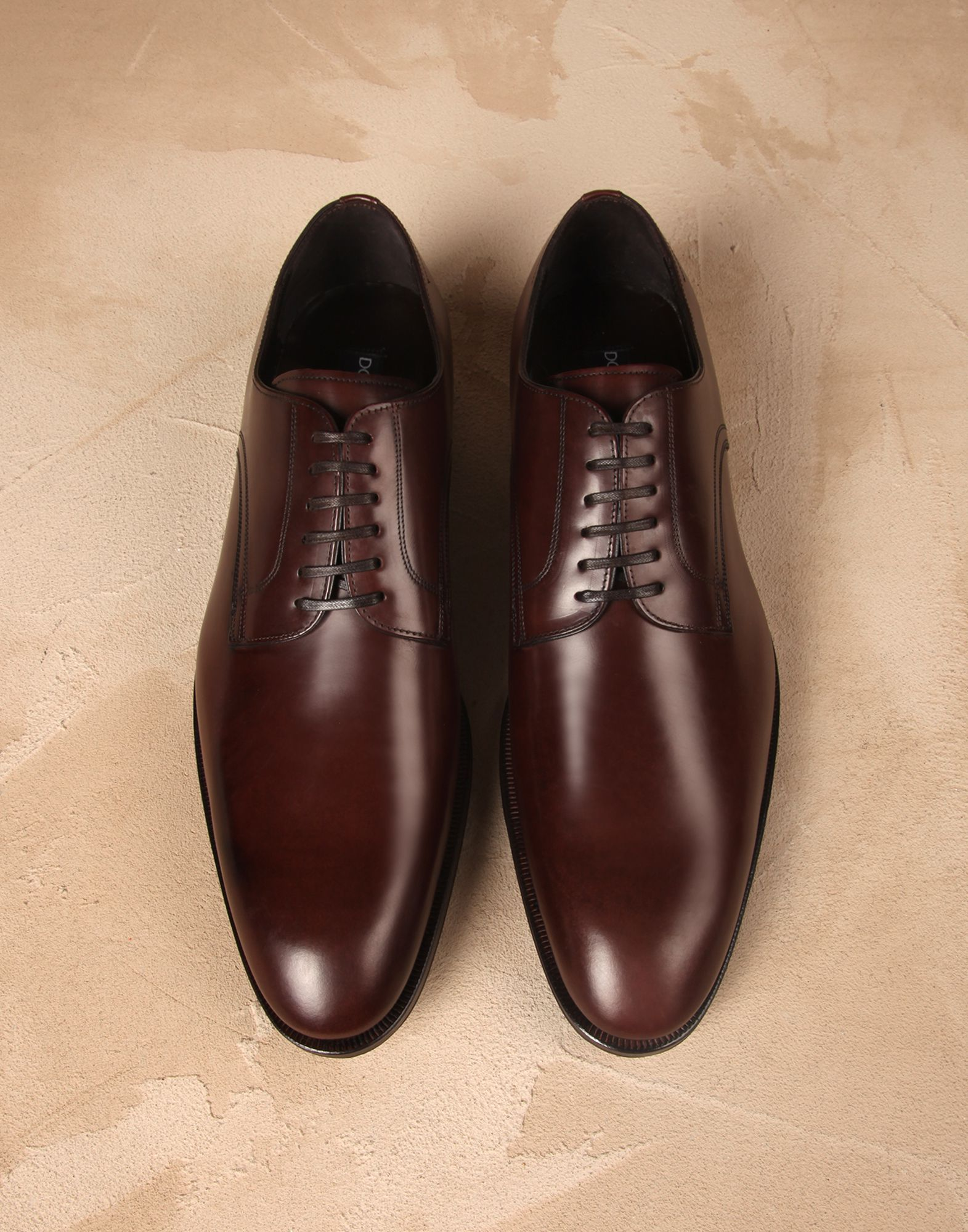 Bull leather portofino derby shoes Men - Dolce Gabbana  bb35cc6d563