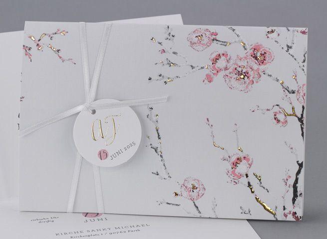 Unser Neuen Haute Couture Hochzeitskarten Celeste Puder