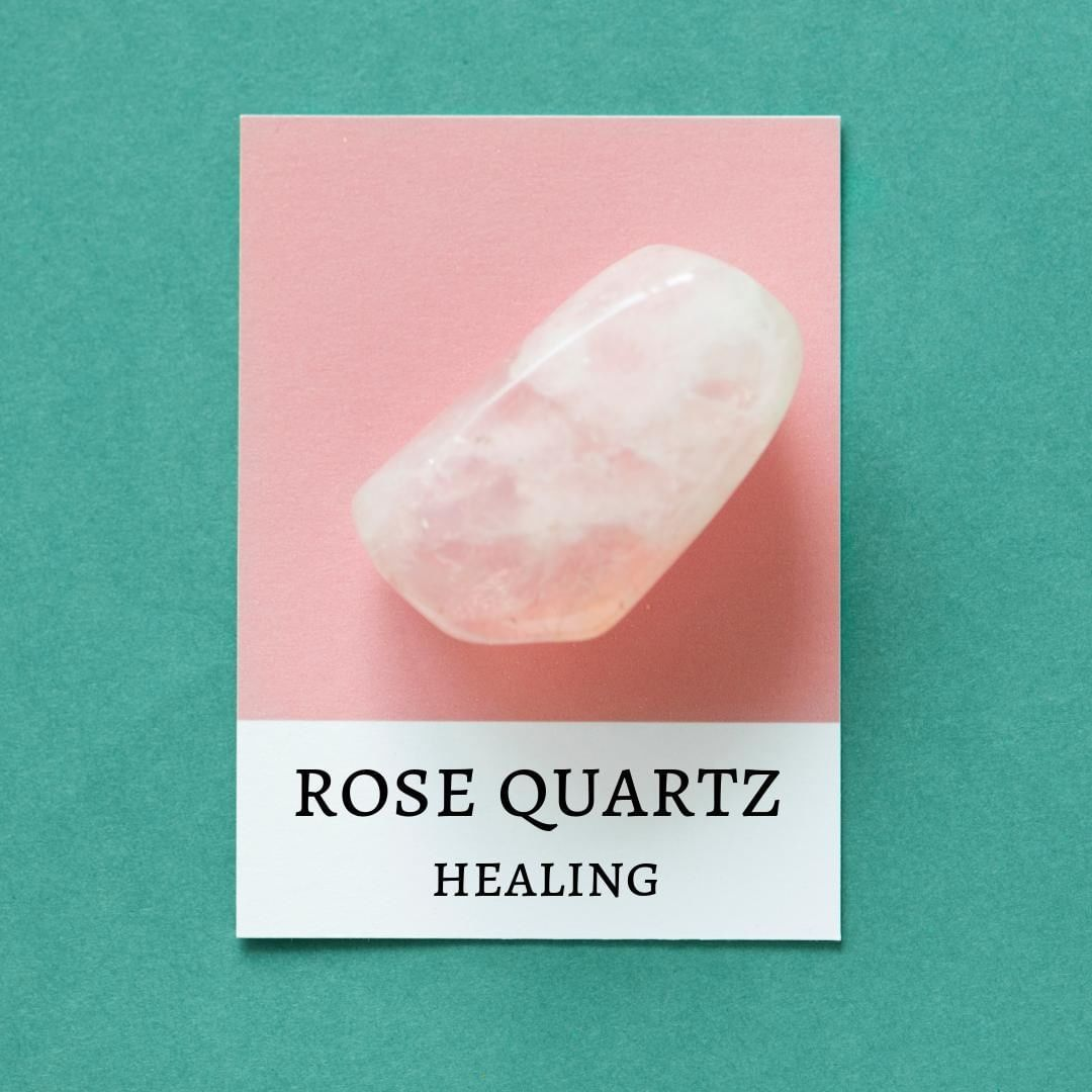 posted to Instagram The Rose Quartz is said