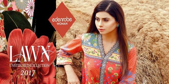 Edenrobe Lawn Collection 2017 With Price http://www.womenclub.pk/edenrobe-lawn-collection-2017-price.html #Edanrobe #Lawn2017 #Summer #Vol #Spring #Dress #Outfit #Spring
