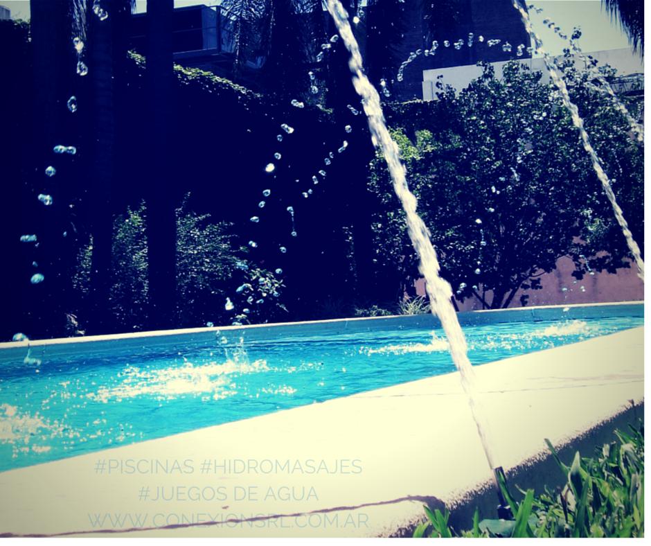 Juegos de agua piscinas swimming pool piscinas for Accesorios para piscinas cascadas