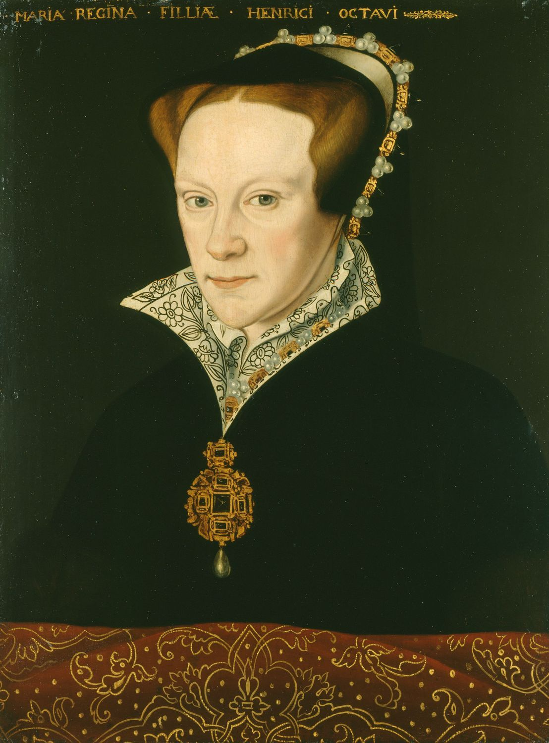Photo of Anthonis Mor (1512-16-c. 1576) – Mary I (1516-58)